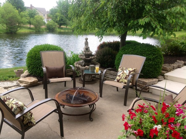 Bonfire Fun, Great place for a cup of tea,wine s'mores and great conversations. , Patios & Decks Design