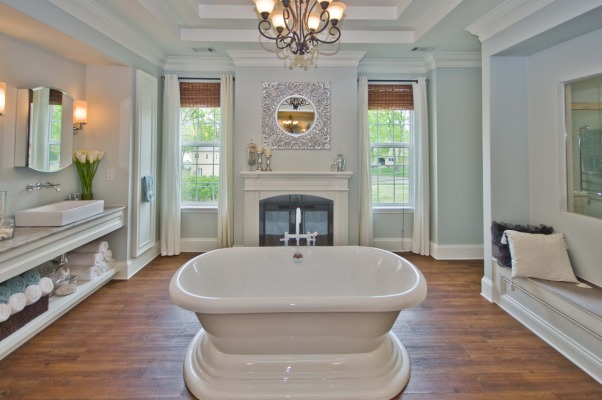 Master Bath, Bathrooms Design