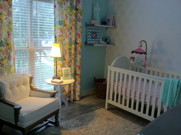 Scout's Nursery, A Collection of Reimagined Thrift Store Finds and the Generosity of Great Friends + Family., Side Table = Built by my wife's dad when she was just a little girl. Crib = Target. Target, we love you.  , Nurseries Design