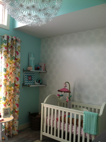 Scout's Nursery, A Collection of Reimagined Thrift Store Finds and the Generosity of Great Friends + Family., Drapes = Lovingly made by a wonderfully talented family friend.  , Nurseries Design