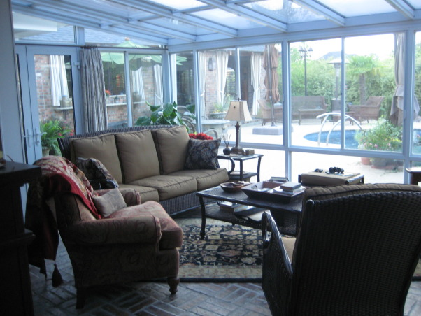 My Stay-cation!!!!, This is where I want to spend all of my time.  It is my own little paradise!!!, My sunroom!!!     , Pools Design