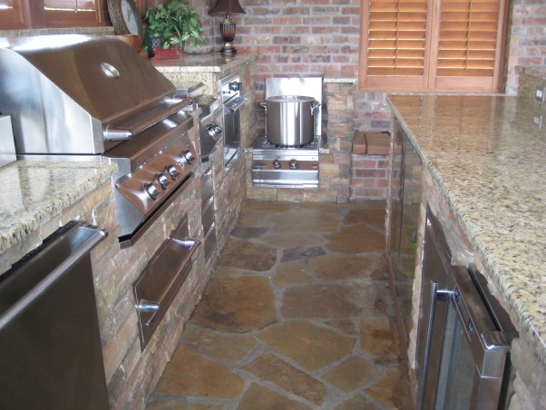 My Stay-cation!!!!, This is where I want to spend all of my time.  It is my own little paradise!!!, View of grill and other appliances in outdoor kitchen!!!   , Pools Design