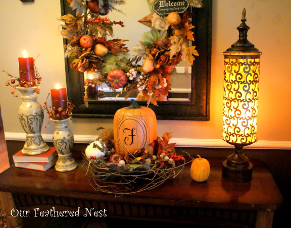 Fall Decor 2013, Its beginning to look a lot like Fall around my home... I'm just starting to dig into those decor boxes and bring out some of my favorite treasures! :), Holidays Design