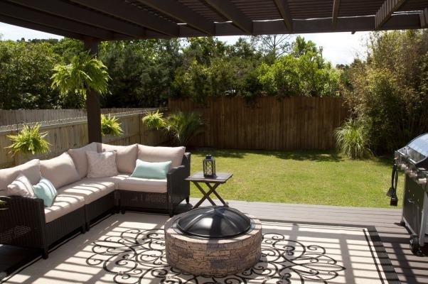 Peaceful Pergola , Back deck pergola, Patios & Decks Design