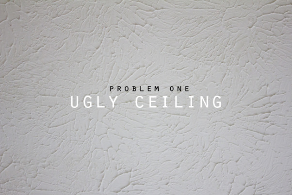 Our Problem Child, We have been living with an ugly room and finally made it a priority. We wonder why we waited so long. If you suffer from the same predicament, we have a few tips for you such as gather a large group as the project goes more quickly and helps maintain a smile on everyone'™s face (hard to accomplish when remodeling). If this does not happen, wine always helps!, Nasty textured eighties ceiling had to be scraped and coated with drywall compound. We gave it a tuscan texture since we are not exactly experts at drywalling!, Home Offices    Design