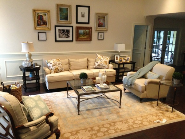 Florida Transformation, This is my sister's amazing transformation for her living room in Florida!, Living Rooms Design