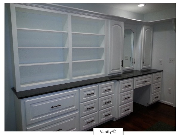 Functional Closet, Functionally Organized Closet, Functional (Vanity w/storage), Closets Design