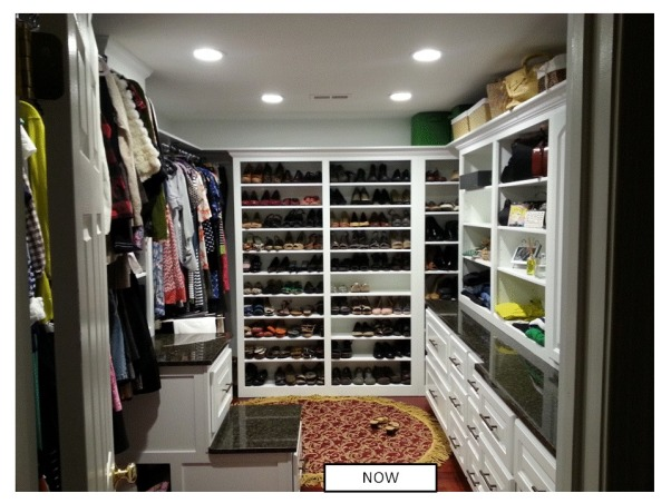 Functional Closet, Functionally Organized Closet, A home for everything; still have space for items :-), Closets Design