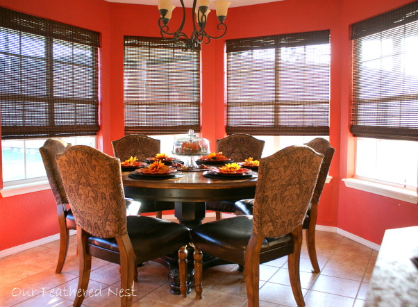 Autumn Look for my Breakfast Nook! =), A few photos from my breakfast nook decorated just for looks..., Our dining nook...., Holidays Design