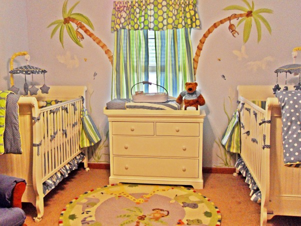 Twins, A room for two tin boys., Nurseries Design