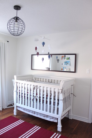 London Calling, This nursery was created for my baby boy.  This is my idea of a neutral room while injecting pops of color.  Check out my blog: www.michellerinteriors.blogspot.com , Nurseries Design