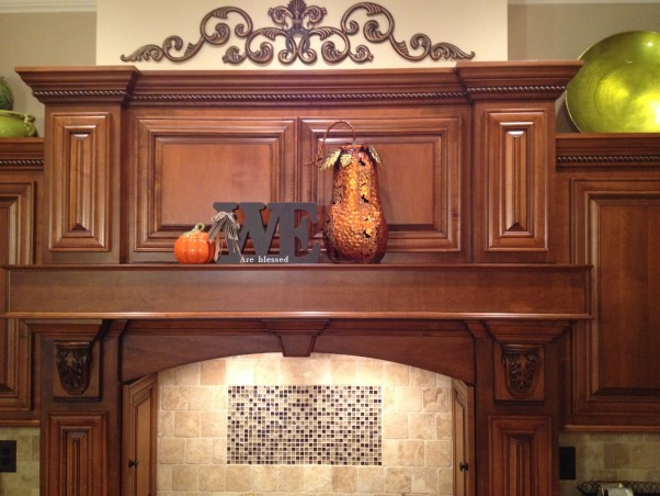 Kitchen and breakfast room with a touch of fall!, Added a little fall to my kitchen and breakfast room  I love this time of year!, We are blessed!!   That's fore sure!! , Kitchens Design