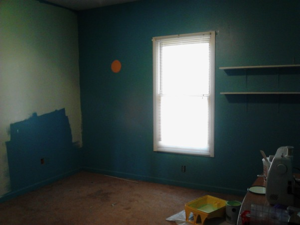 Sewing/Craft Room, My hubby and I are now Empty Nesters. One of the vacant rooms in our home I created a sewing/craft room. It is so funny because my Hubby will ask permission before he crosses the threshold., Before The 12 X 12 mess.  , Other Spaces Design