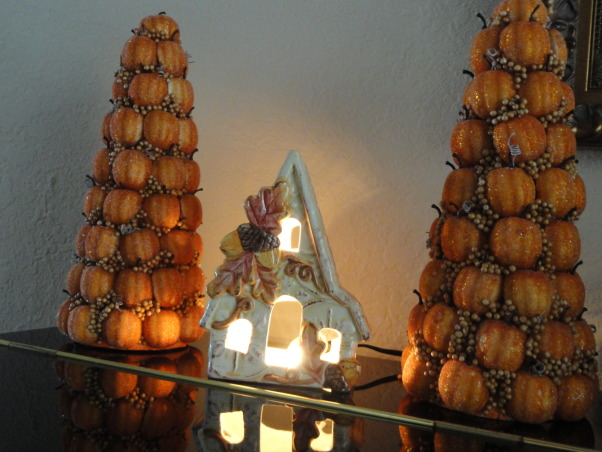 Thanksgiving time around our home :), Our entryway, dining room and living room decorated for the season :), Holidays Design