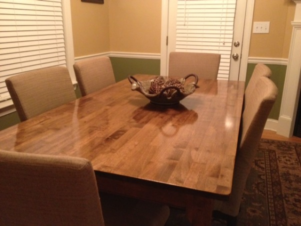 Upstairs living space and master bedroom, Trying  to find my style AND pull it all together but it is not easy ,  kitchen table my hubby stain  ... his first home project of many                        , Living Rooms Design