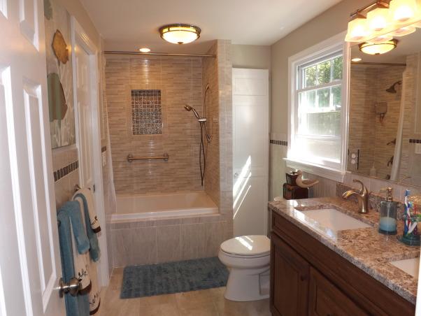 Remodeled Bathroom, AFTER , Bathrooms Design