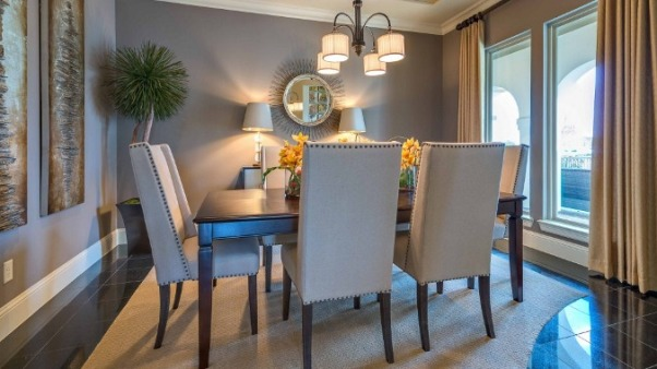 Serene Space , Wouldnt it feel great to have dinner in this dining Room Area, Dining Rooms Design