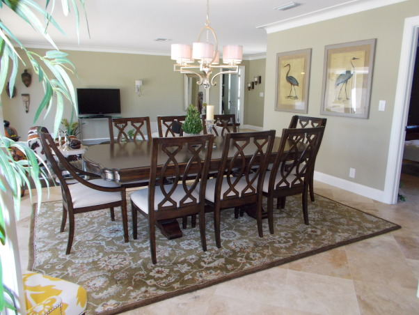 Dining Room Before and After, When we renovated our 1965 home, we made sure to take every detail into account.  we experimented in many ways. let us know how we did.  , View from Dining room into adjacent formal living room, Dining Rooms Design