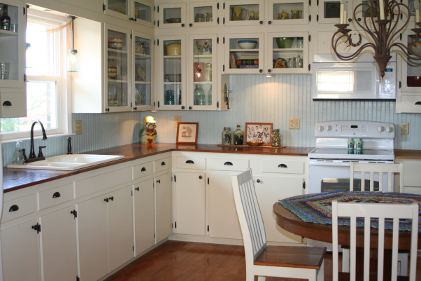 Zero to Hero!, Dark dated kitchen to bright airy space under $1500., Kitchens Design