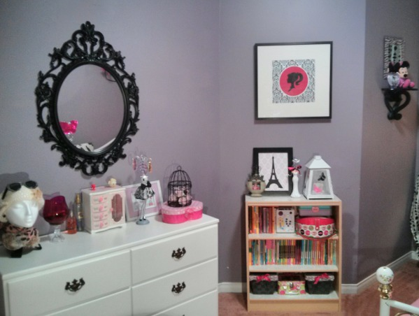 Oh La La Room, This is my 8 yrs old daugther's room she loves Paris so I created a Parisian room in just a tiny budget...what do you think?, Girls' Rooms Design