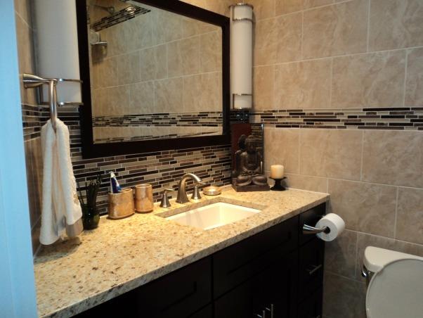Bath Renov, Renovated small Bathroom, Counter top, Bathrooms Design