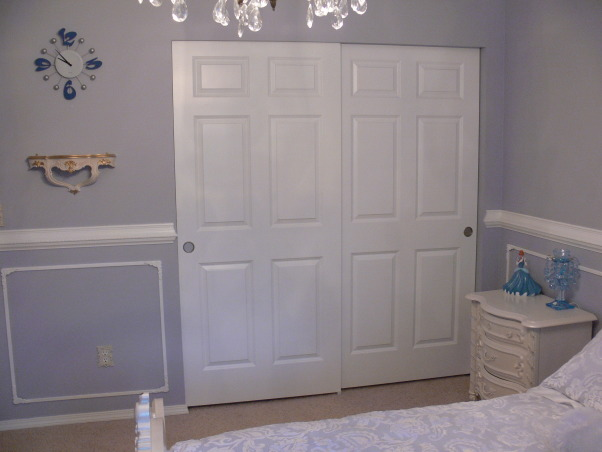 "My little ""Cinderella's"" Room., Cinderella is my Daughter's favorite cartoon character so I've desided to make her a princess room., , Girls' Rooms Design"