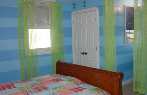 Fun, Cool Room For A Preteen!, This is a room that I decorated for my 12 year old sister-in-law. She wanted stripes and polka dots to replace her dolphin theme room. She found the bedding and I put the rest together., , Girls' Rooms Design
