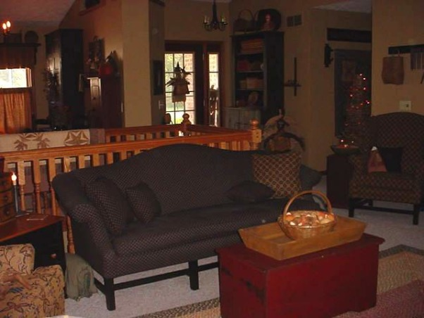 Information about rate my space hgtv for Primitive living room ideas