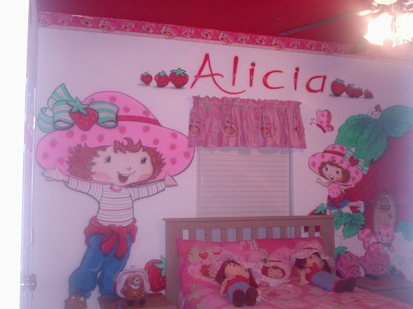 Strawberry Shortcake, Strawberry Shortcake inspired by my 6 year old, , Bedrooms Design