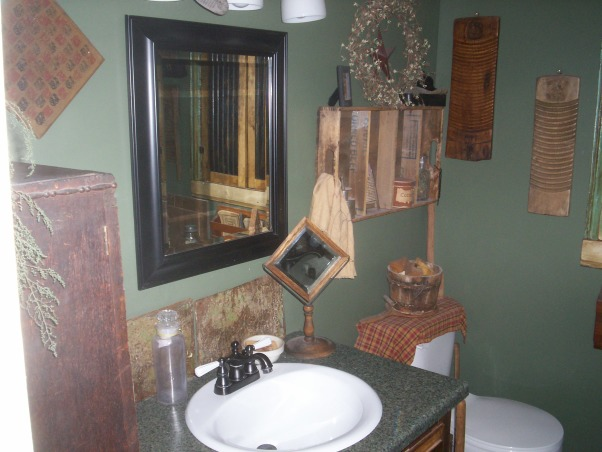 Information about rate my space questions for for Country bathroom designs small spaces