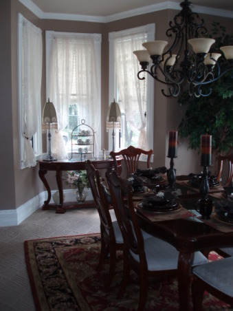 Information about rate my space questions for for Window treatments for bay windows in dining room