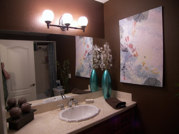 Information about rate my space hgtv - Asian themed bathroom decor ...