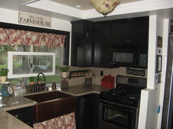 Desmonds country kitchen, added pictures of the kitchen redo. Now you can see the whole kitchen., , Kitchens Design