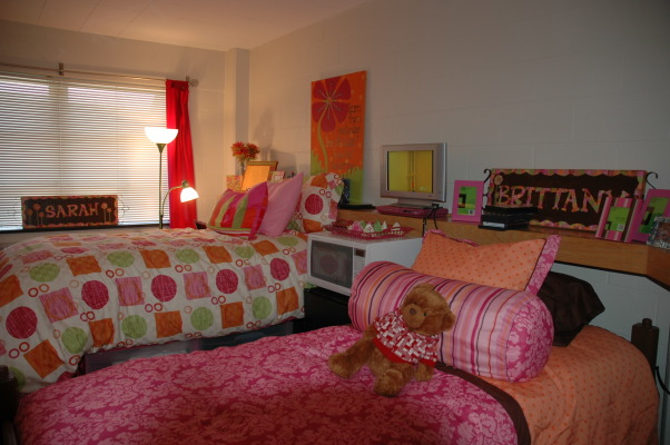 Dorm Room Ideas For Girls Pink