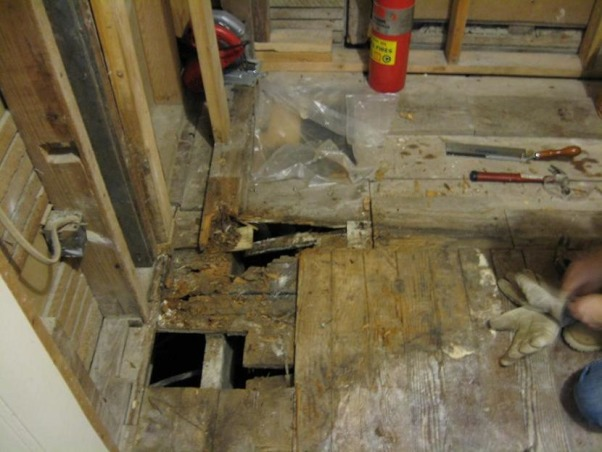 Remodeling a bathroom in a house built in 1916, Gutted this all the way down to the joists. , , Bathrooms Design