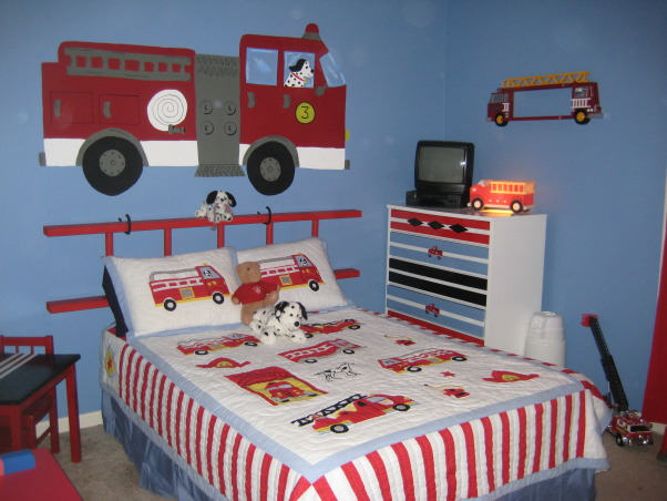 301 moved permanently for Fire truck bedroom ideas