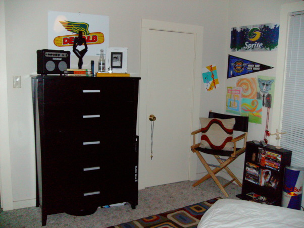 teen boy room.... self design, i designed this room my self. i am 14 and it was the best i could do with the space, , Boys' Rooms Design