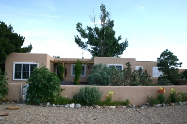 Front yard in New Mexico, This isn't my favorite looking house but it's mine and typical of New Mexico., , Yards Design