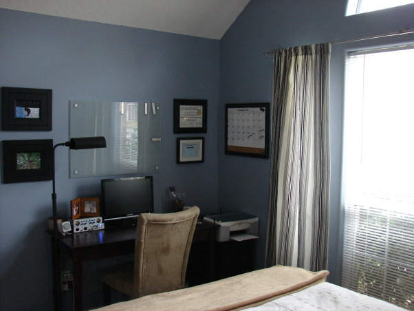 room home office combo our guestroom doubles as our small home office