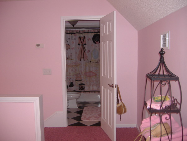 Young girls, Paris theme room, PINK! Poodles and Paris themed room., , Girls' Rooms Design