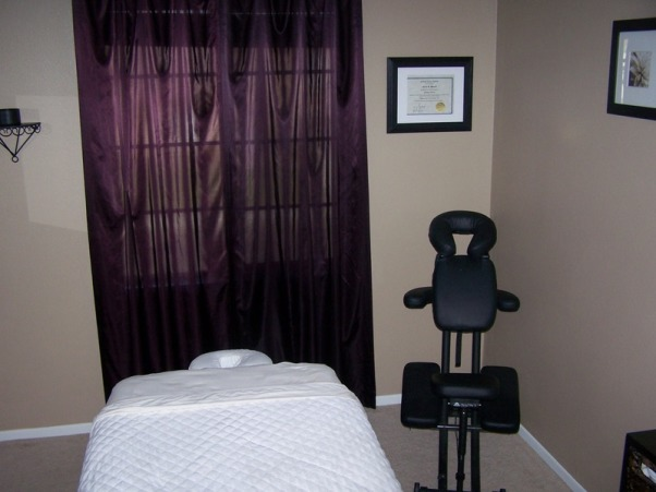 MY MASSAGE ROOM, I AM A MASSAGE THERAPIST AND WORK OUT OF MY HOME THIS IS MY ROOM I JUST PAINTED AND FINISHED TODAY... ANY SUGGESTIONS? , , Bedrooms Design