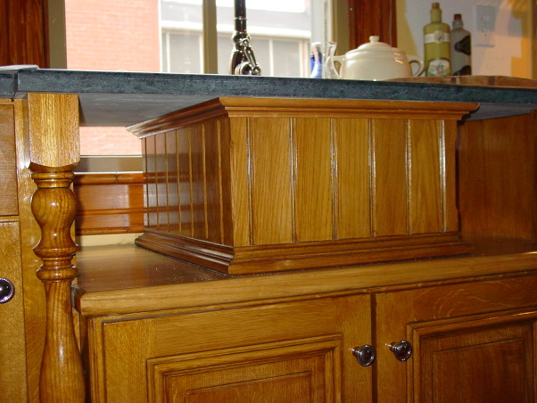 Late Victorian Butler's Pantry Kitchen, I completed my DIY kitchen about a year ago with the fabrication of the soapstone countertops. It was a 15 month project working evenings and weekends but it was sooooo worth it. The kitchen is in a 1900 addition to my 1850 house. The kitchen when I moved in was barely functional and it toolk many years to figure out how to fit all the appliances around the two windows and six doors in the room., Prep sink floats to keep all original trim on window., Kitchens Design