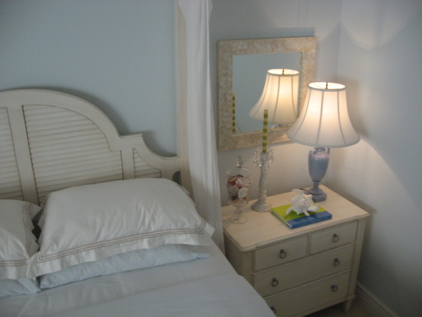 Ocean Inspired Master Bedroom, Notice more storage in bachelor chest , Bedrooms Design