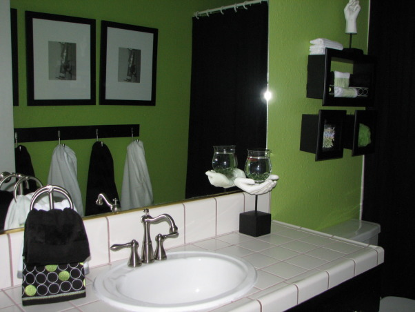 Information about rate my space questions for for Lime green bathroom ideas pictures