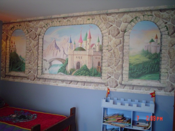 Information about rate my space questions for for Castle wall mural
