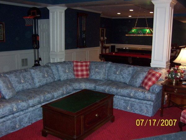 Basement Bar and Pool Table Recreation Room, Basement Bar and Recreation Room, , Living Rooms Design