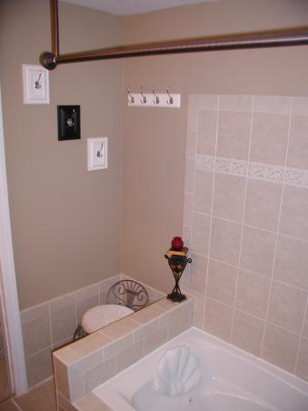 how to make my bathroom look like a spa