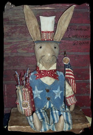 Primitive and Folk Art Creations, These are pictures of some of my folk art primitive creations., Here is the newest Primitive Patriotic creation I just finished., Dining Rooms Design