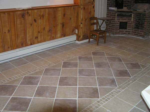 Information about rate my space hgtv for Ceramic tile basement