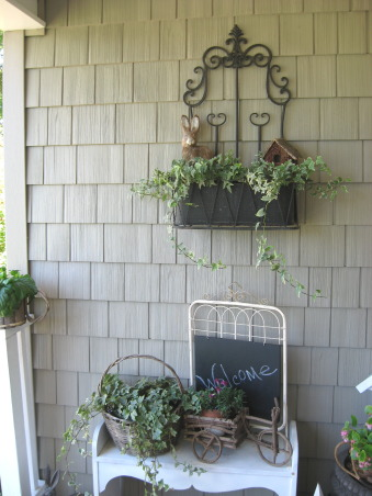 "My ""Sweet Retreat"" Cottage Porch, This is truly my ""Sweet Retreat"" and I spend lots of time here.  Come sit a spell with me......, Porches Design"